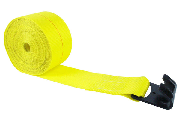 4 Inch Winch Strap with Flat Hook