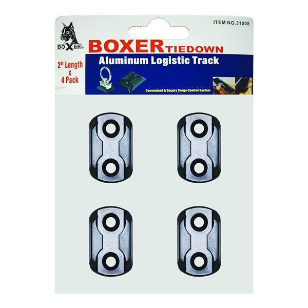 2 Inch Aluminum Logistic Track Fitting - Boxer Tools