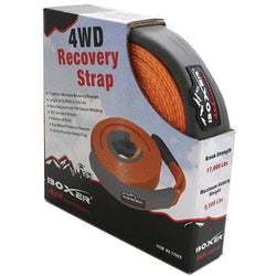 2-3/8 Inch Nylon Recovery Strap in Orange