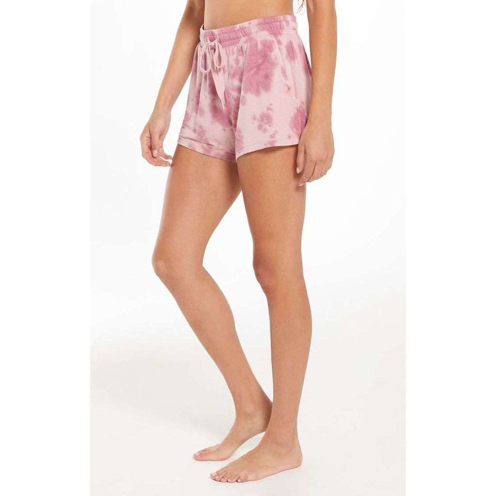 Cruise Tie Dye Short in Violet Ash