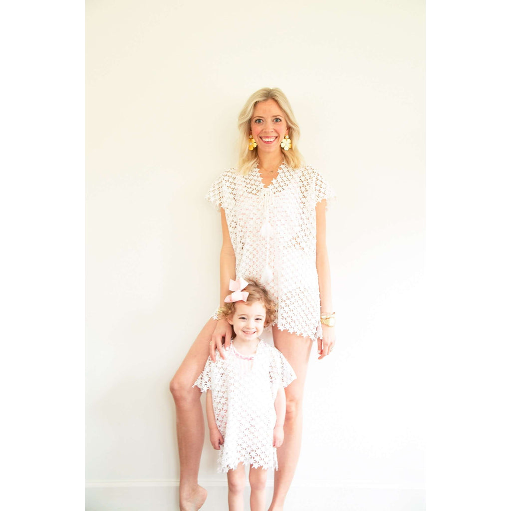 Crochet Star Tunic Cover Up for Kids