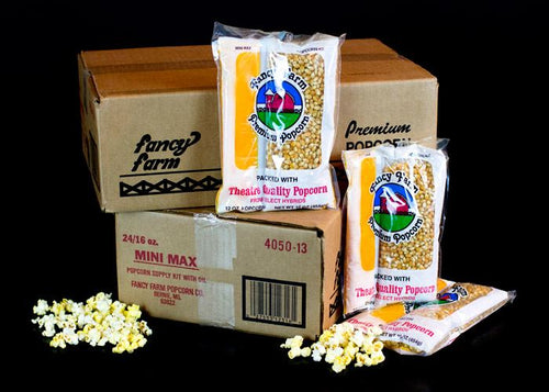 16 oz Mini Max Popcorn Kit Shipping Included