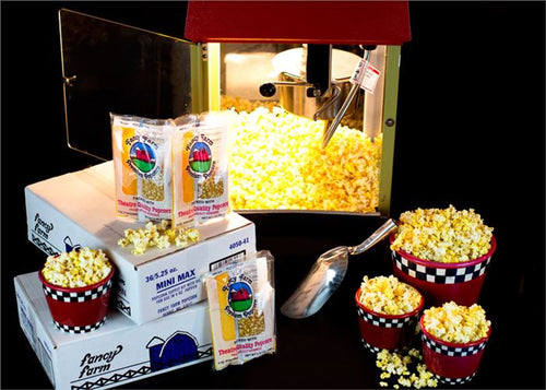 5.25 oz Mini Max Popcorn Kit Shipping Included