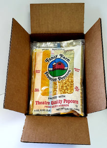 6/ 5.25 oz Mini Max Popcorn Kits Shipping Included