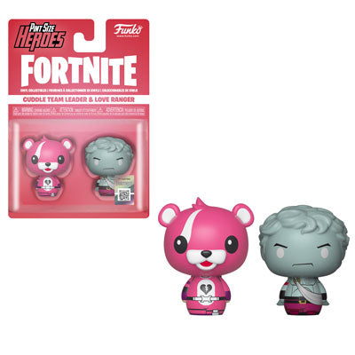 Pint Size Heroes: Fortnite, Cuddle Team Leader/ Love Ranger (2-Pack)