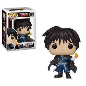 PRE-ORDER - 01/2019 POP! Animation: 393 Full Metal Alchemist, Roy Mustang