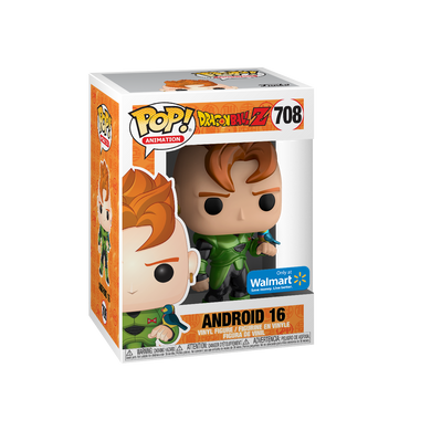 POP! Animation: 708 Dragon Ball Z, Android 16 Walmart