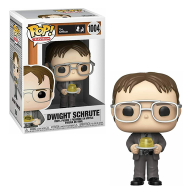 PRE-ORDER - POP! TV: 1004 The Office S2, Dwight w/Gelatin Stapler