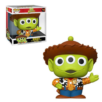 PRE-ORDER - POP! Disney: 756 Pixar, Alien as Woody (10