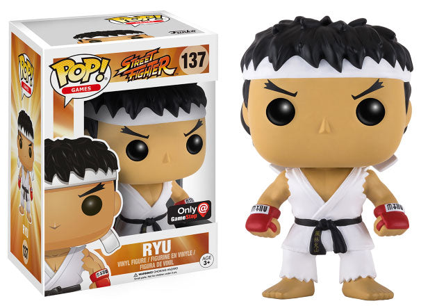 POP! Games: 137 Street Fighter, Ryu Gamestop Exc