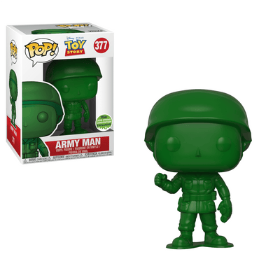 POP! Disney: 377 Toy Story, Army Man (2018 Spring Convention, Shared)