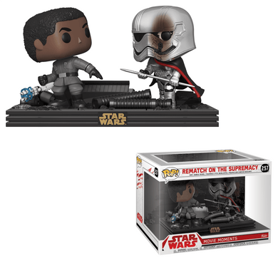 POP! Movie Moments: 257 Star Wars, Rematch on the Supremacy (Finn vs. Captain Phasma)