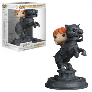POP! Moments: 82 Harry Potter, Ron Weasley Riding Chess Piece