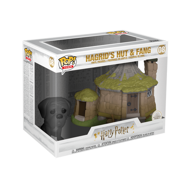 POP! Town: 08 Harry Potter, Hagrid's Hut w/ Fang (Wizarding World)