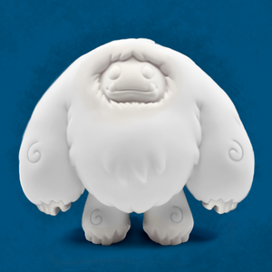 Abominable Toys: Blank Chomp Vinyl Figure (5-Inches)