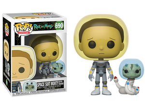 POP! Animation: 690 Rick and Morty, Space Suit Morty w/Snake