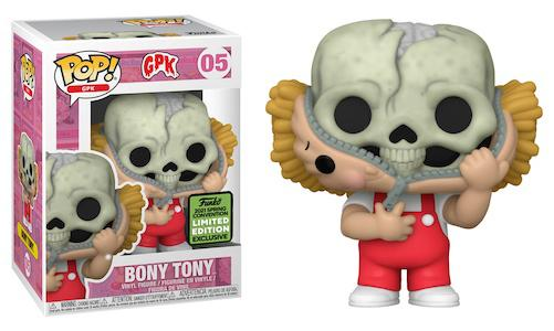 POP! GPK: 05 Garbage Pail Kids, Bony Tony (2021 Spring Convention) Exclusive