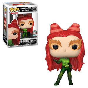 PRE-ORDER - POP! Heroes: 343 Batman & Robin, Poison Ivy (Specialty Series)