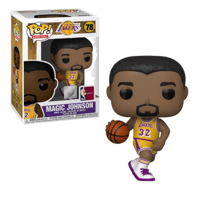 PRE-ORDER - POP! NBA: 78 Legends, Magic Johnson (Lakers Home)