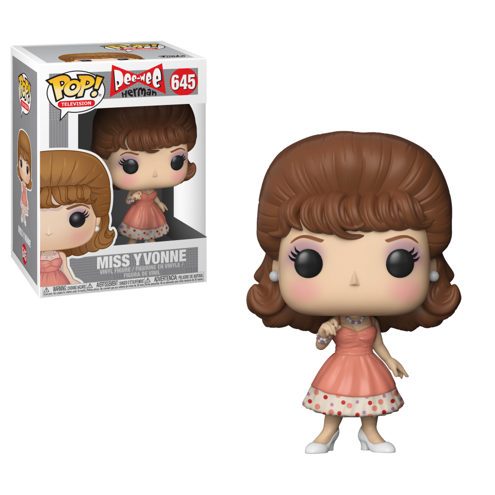 POP! TV: 645 Pee Wee Herman, Miss Yvonne