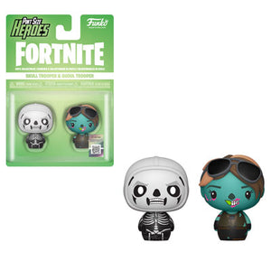 PRE-ORDER - Pint Sized Heroes: 2 pack Fortnite, Skull Trooper/ Ghoul Trooper