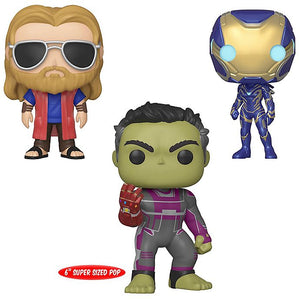 POP! Marvel: Avengers, End Game (Bundle of 3)