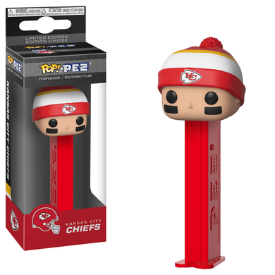 POP! PEZ: NFL, Kansas City Chiefs