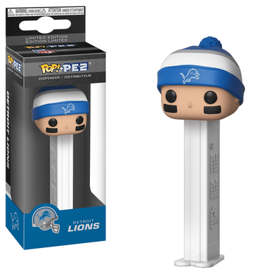 POP! PEZ: NFL, Detroit Lions
