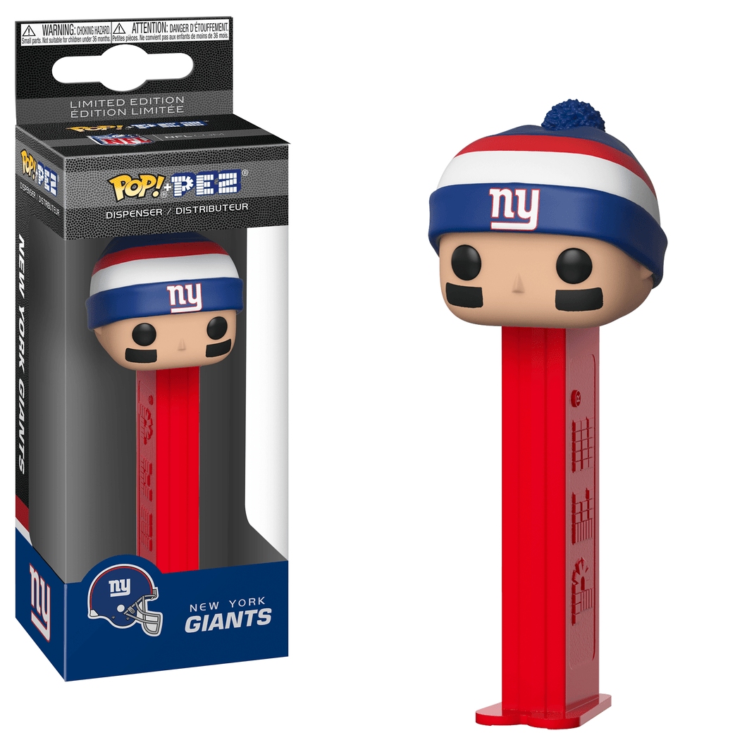 POP! PEZ: NFL, New York Giants