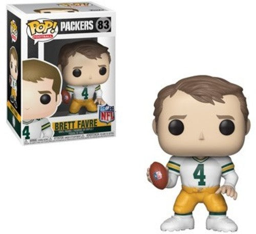 POP! Football: 083 Brett Favre, Green Bay Packers NFL Legends