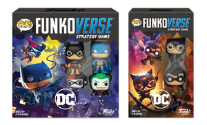 PRE-ORDER - 07/2020 POP! Funkoverse: DC Comics, Complete Game (Bundle of 2)