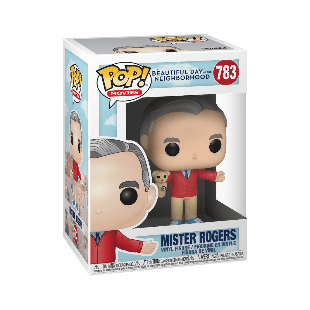 POP! Movies: 783 A Beautiful Day in the Neighborhood, Mister Rogers