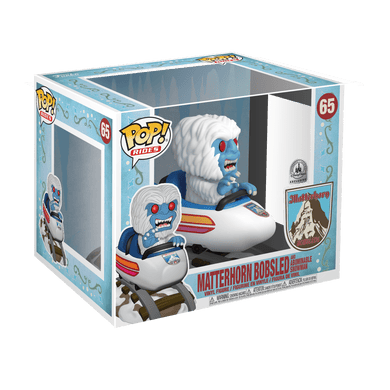 POP! Rides: 65 Matterhorn Bobsled and Abominable Snowman (Disney)