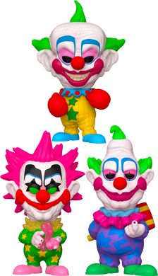 PRE-ORDER - POP! Movies: Killer Klowns from Outer Space (Bundle of 3)