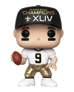 PRE-ORDER - POP! NFL: Saints, Drew Brees (SB Champions XLIV)