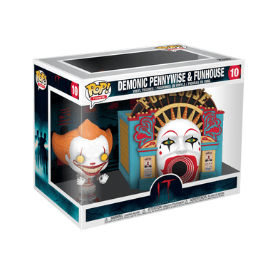 POP! Town: 10 IT Chapter 2, Demonic Pennywise & Funhouse