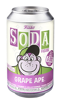 PRE-ORDER - Vinyl Soda: Hanna Barbera, Grape Ape