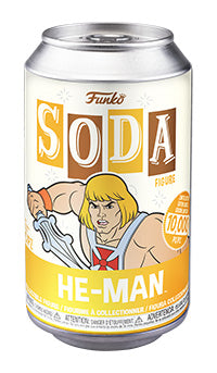 PRE-ORDER - Vinyl Soda: Masters of the Universe, He-man