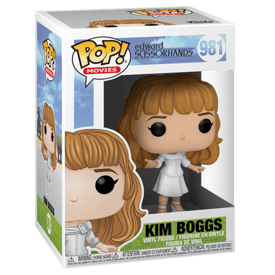 PRE-ORDER 08/2020 - POP! Movies: 981 Edward Scissorhands, Kim in White Dress
