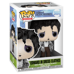 PRE-ORDER 08/2020 - POP! Movies: 980 Edward Scissorhands, Edward in Dress Clothes