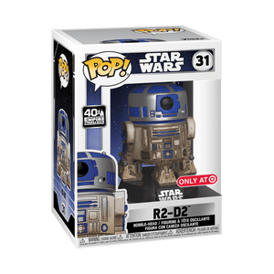 POP! Star Wars: 31 The Empire Strikes Back (40th), R2-D2 (Target)