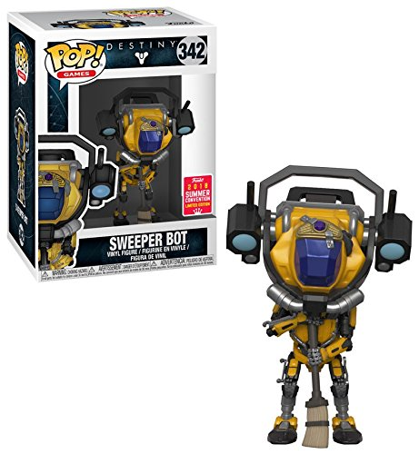 POP! Games: 342 Destiny, Sweeper Bot SDCC 18