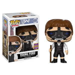 POP! TV: 491 West World, Young Ford  SDCC 2017 *Damaged* 7/10