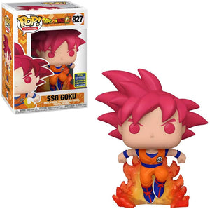 POP! Animation: 827 Dragonball Super, SSG Goku (2020 Summer Convention)