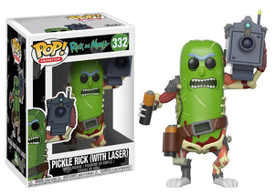 POP! Animation: 332 Rick & Morty, Pickle Rick w/ Laser