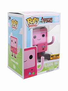 POP! TV: 321 Adventure Time, Blushing BMO Hot Topic Exc *Damage* 8/10