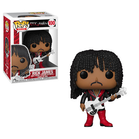 PRE-ORDER - 02/2019 POP! Rocks: 100 Rick James, Rick James