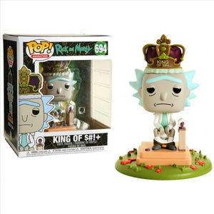 POP! Animation: Rick & Morty Deluxe King of S!