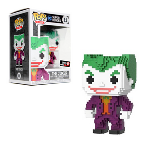 POP! 8-Bit: 11 DC, Joker Gamestop