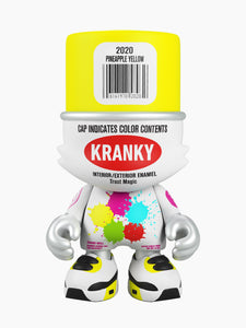 SuperPlastic: SuperKranky (Pineapple Yellow) By Sketone (8-Inch)
